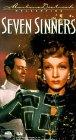 Seven Sinners - 1940